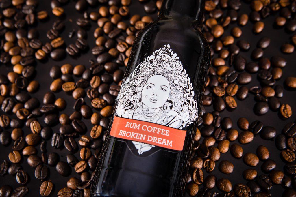 Rum coffee broken dream
