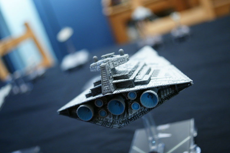 Star Wars Armada Star Destroyer Back