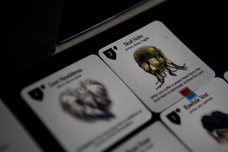 Kingdom Death Monster skull helm