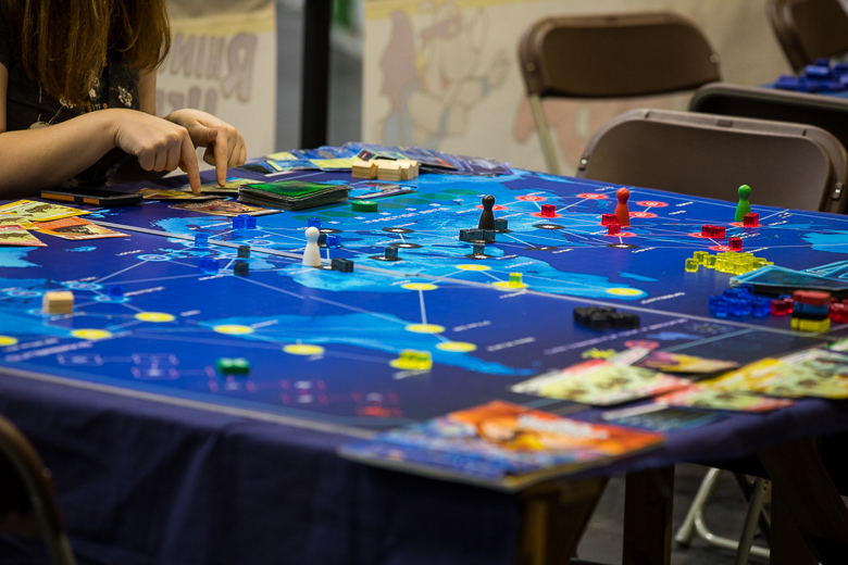 UKGE 2018 Giant Pandemic
