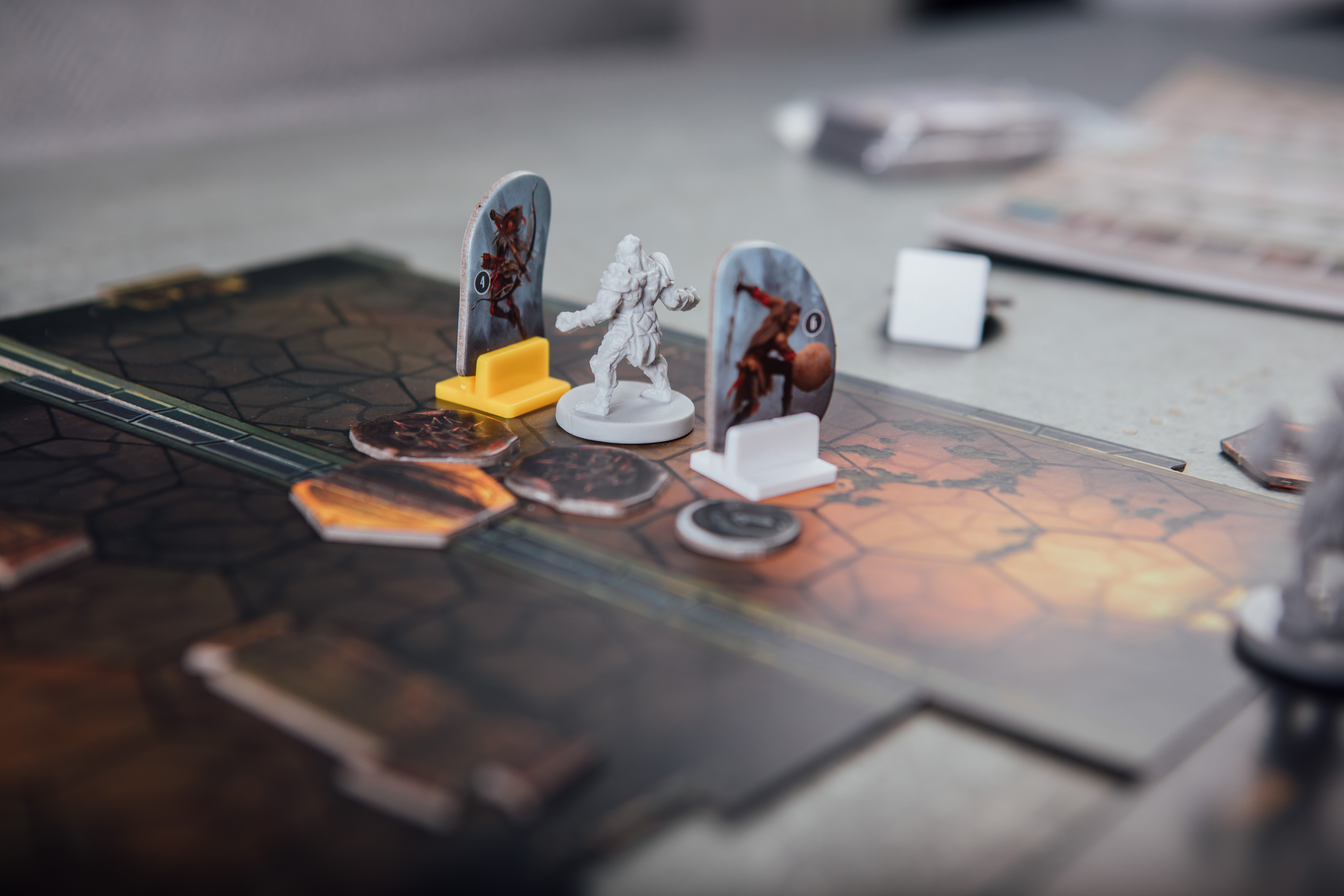 Gloomhaven Black Barrow Cragheart in trouble
