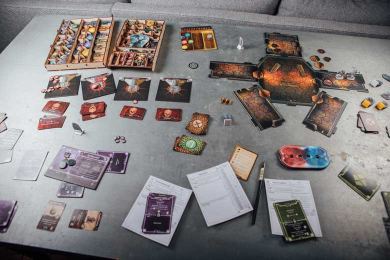 Gloomhaven Barrow Lair end game