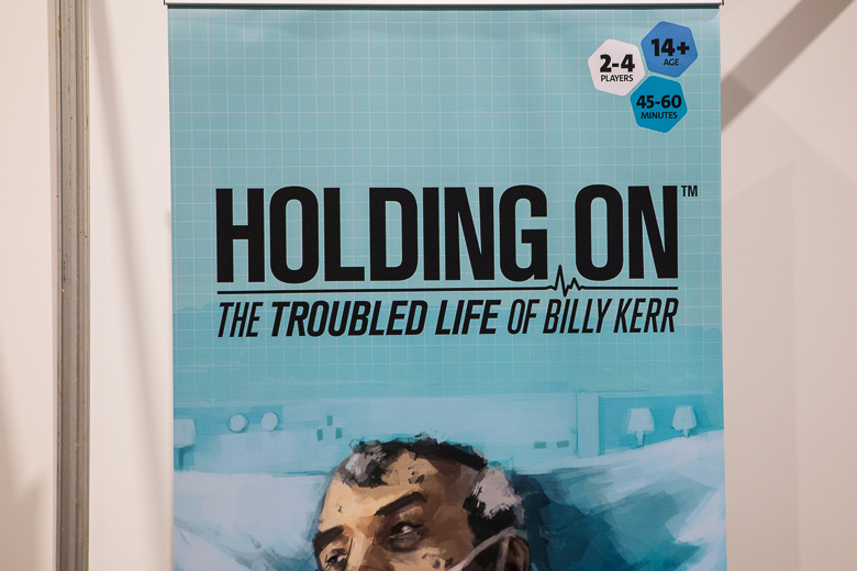 Holding On Box art interview