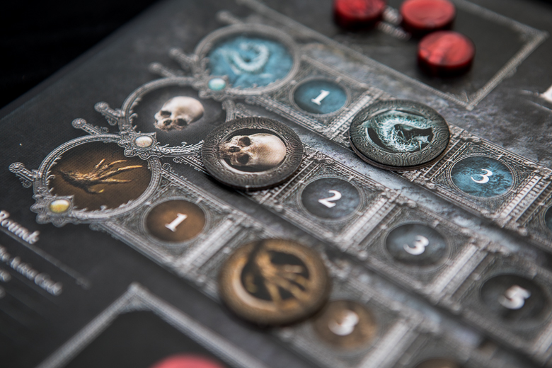 Bloodborne Card Game tracker board