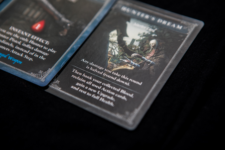 Bloodborne The Card Game hunter's dream