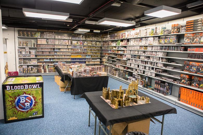 Dark Sphere Games Workshop stand