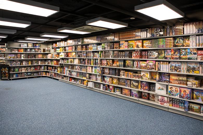 Dark Sphere wall of games