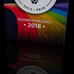 Rainbow Project 2018 header image beer menu