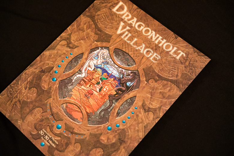 Legacy of Dragonholt village book