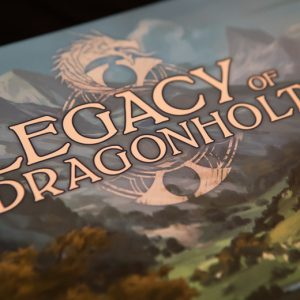 Legacy of Dragonholt box cover