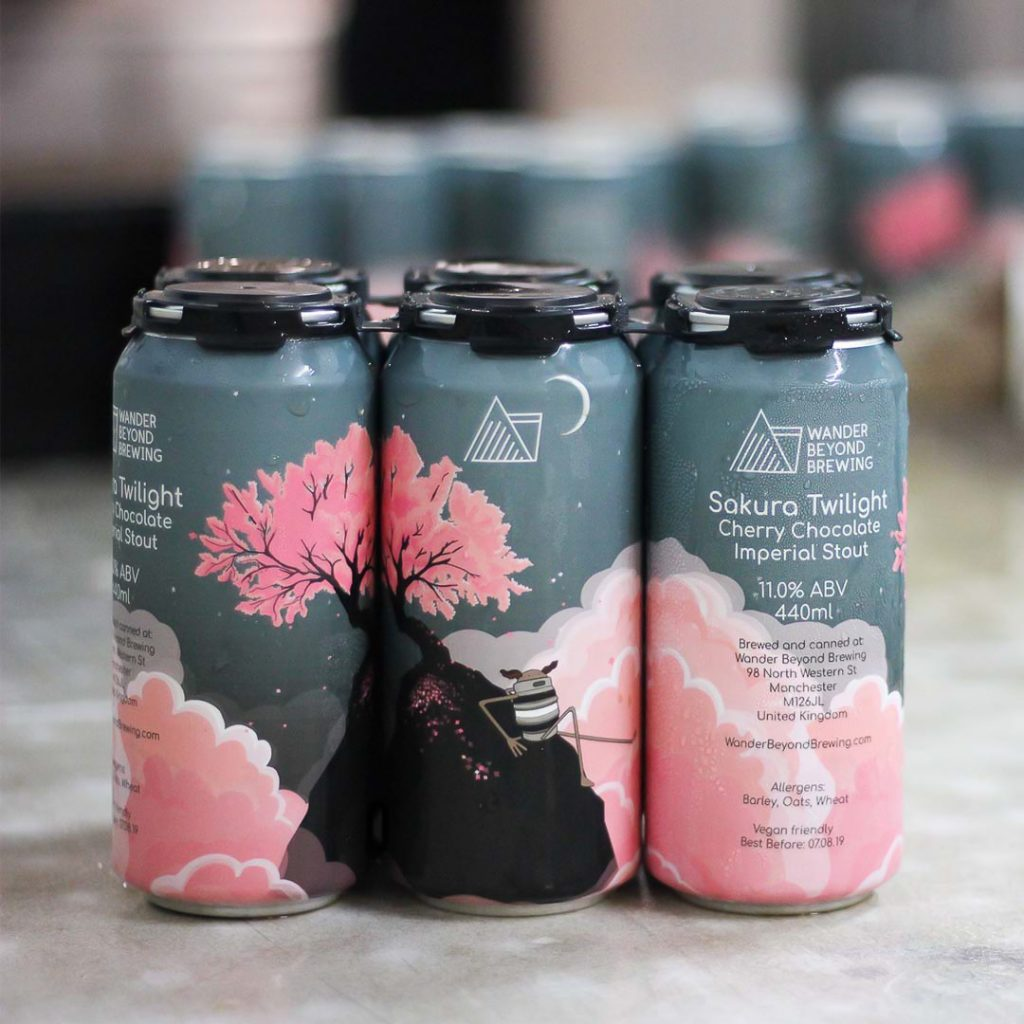 Craft beer in 2019 Wander Beyond Sakura Twilight