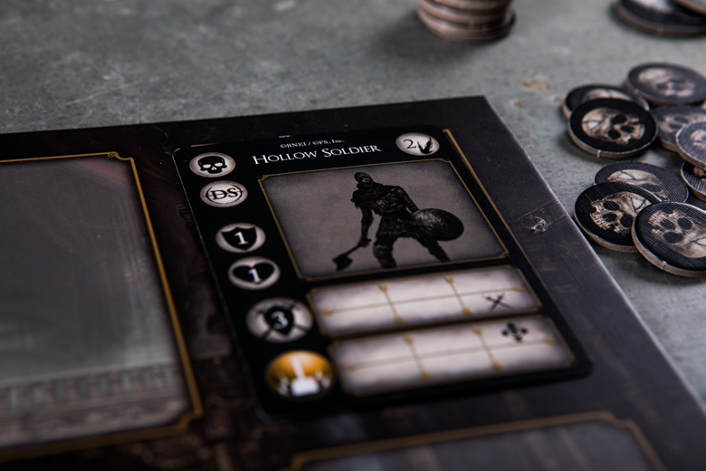 Dark Souls The Card Game Hollow Soldier