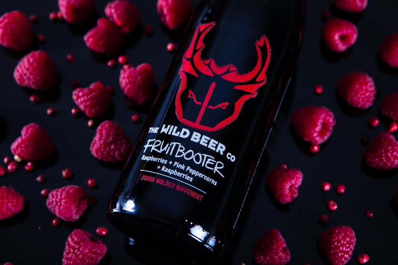 bottle of Wild Beer Fruitbooter
