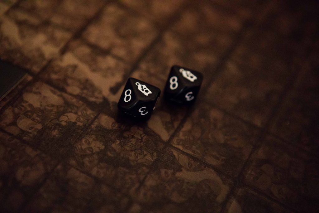 Kingdom Death Monster dice perfect hit