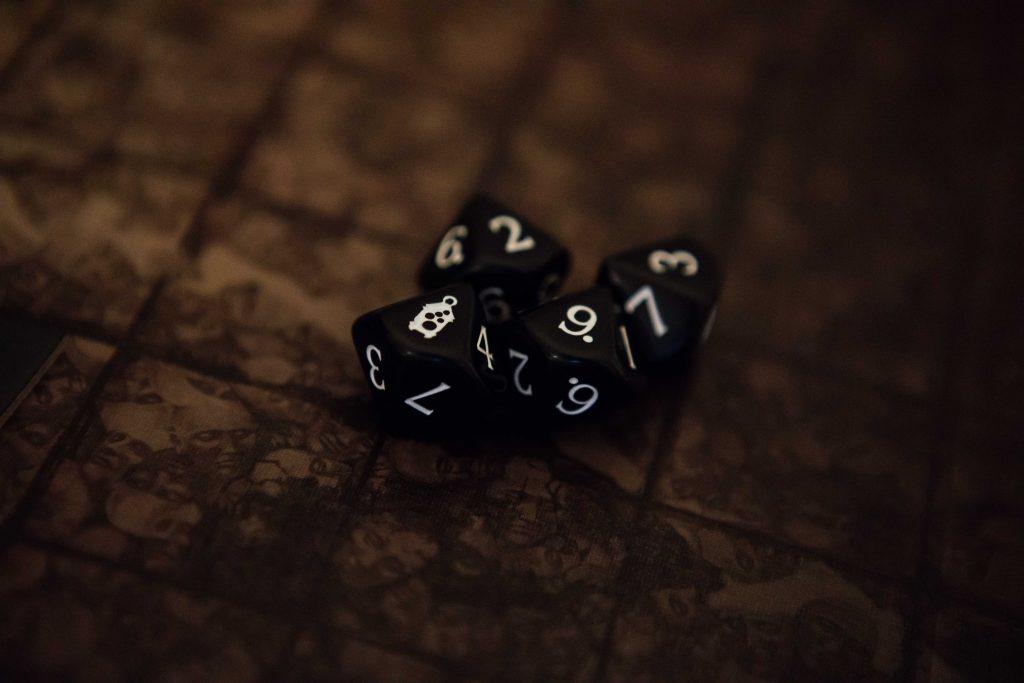 Kingdom Death Monster dice roll