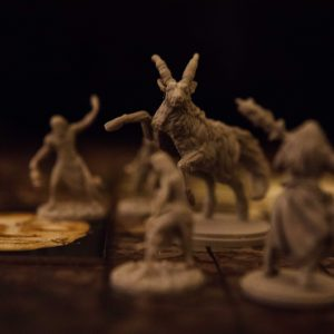 Kingdom Death Monster Antelope surrounded