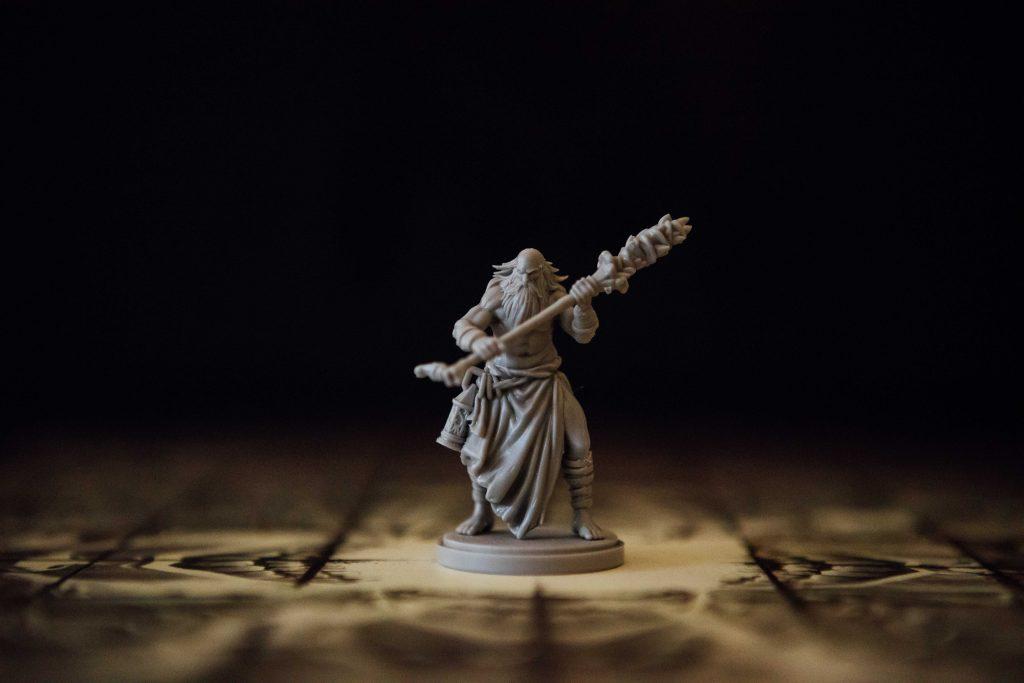 Kingdom Death Monster Old Survivor miniature