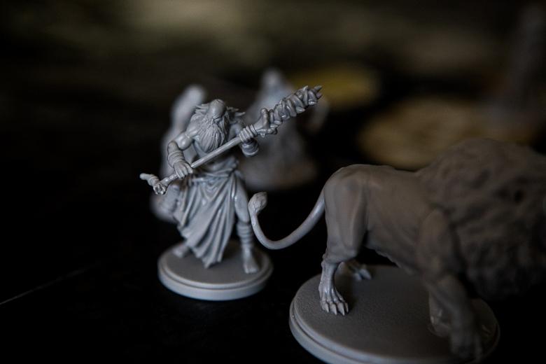 Kingdom Death Monster critical hit lion tail