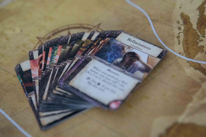 Eldritch Horror hallucinations card