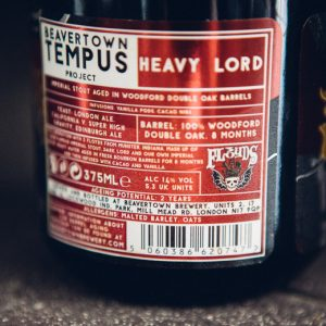 Beavertown Heavy Lord beer strength