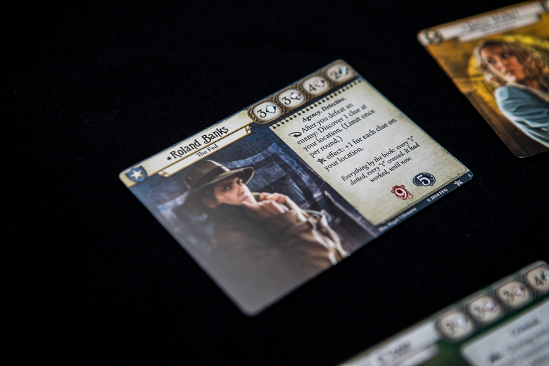 Arkham Horror The Card Game Roland investigator card