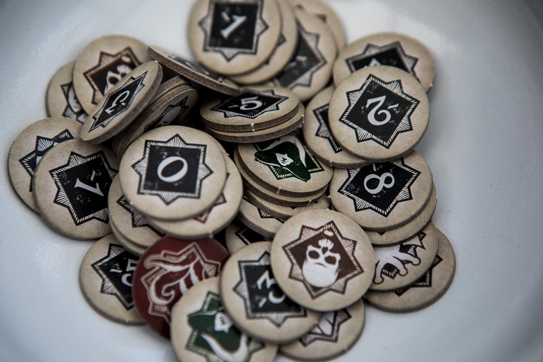 Arkham Horror The Card Game chaos tokens