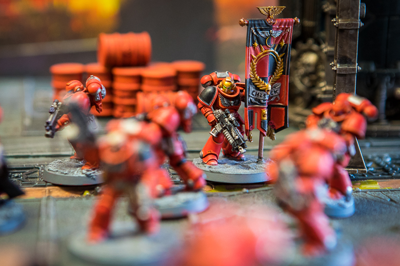 Warhammer 40K Kill Team awesome looking space marine