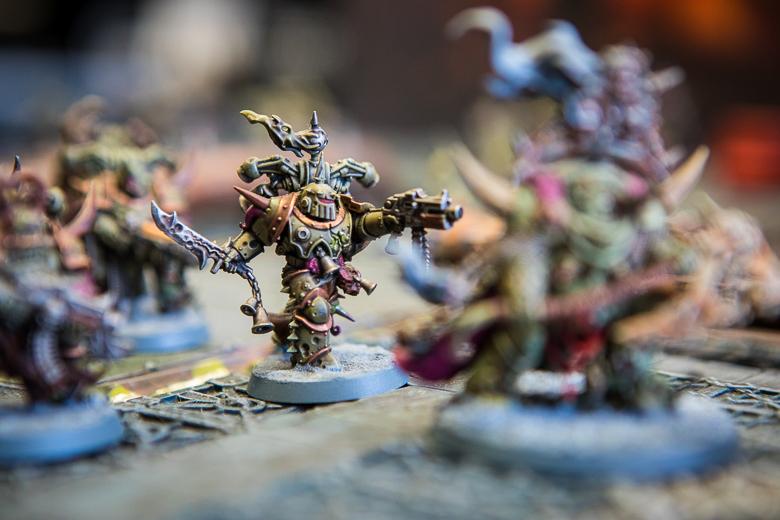 Warhammer 40K Kill Team plague marine
