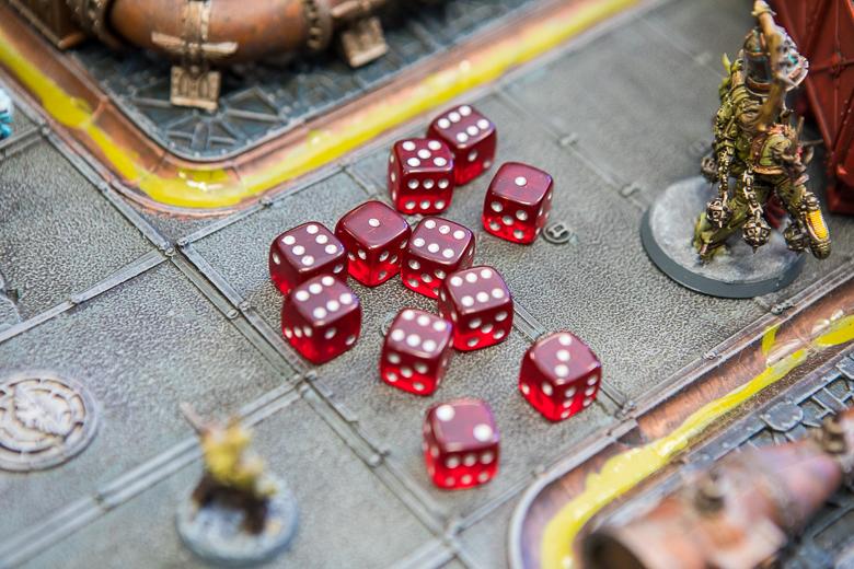 Warhammer 40K Kill Team dice