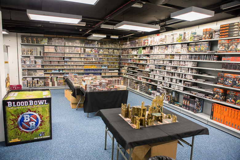 Dark Sphere Games Workshop stand