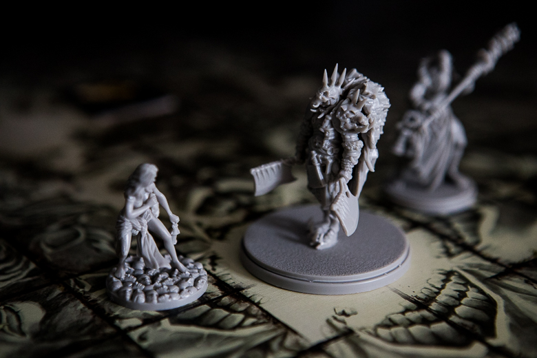 Kingdom Death Monster Butcher Elayne face-off