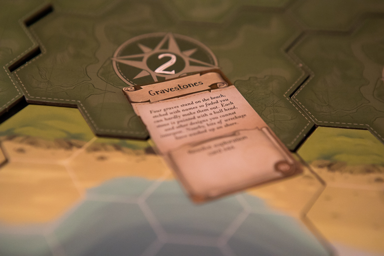 Discover Lands Unknown gravestones card