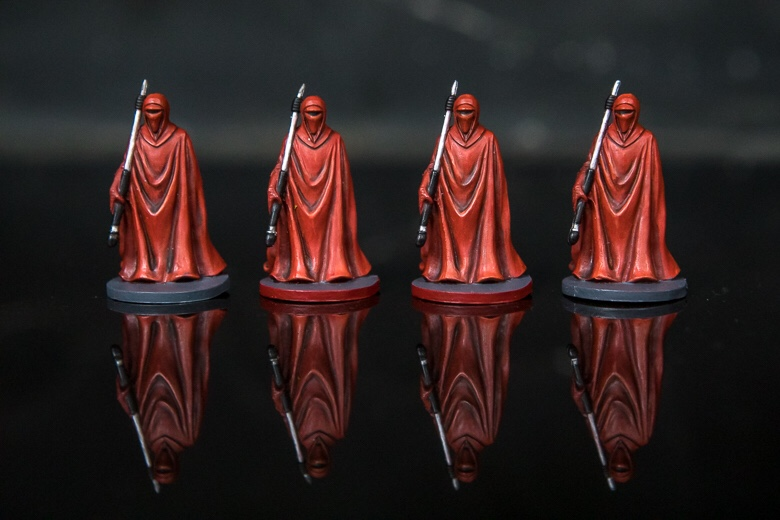 New Year's resolutions imperial guard