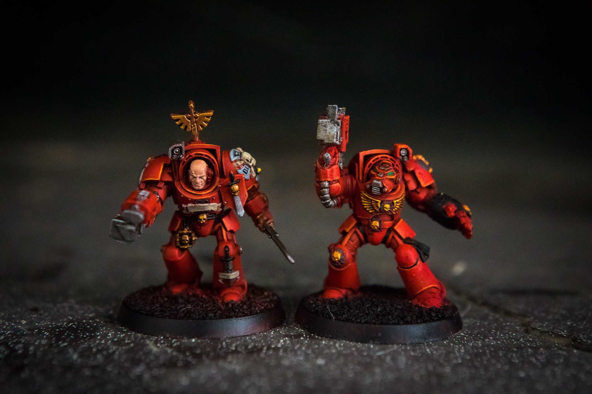New Year's resolutions space marines