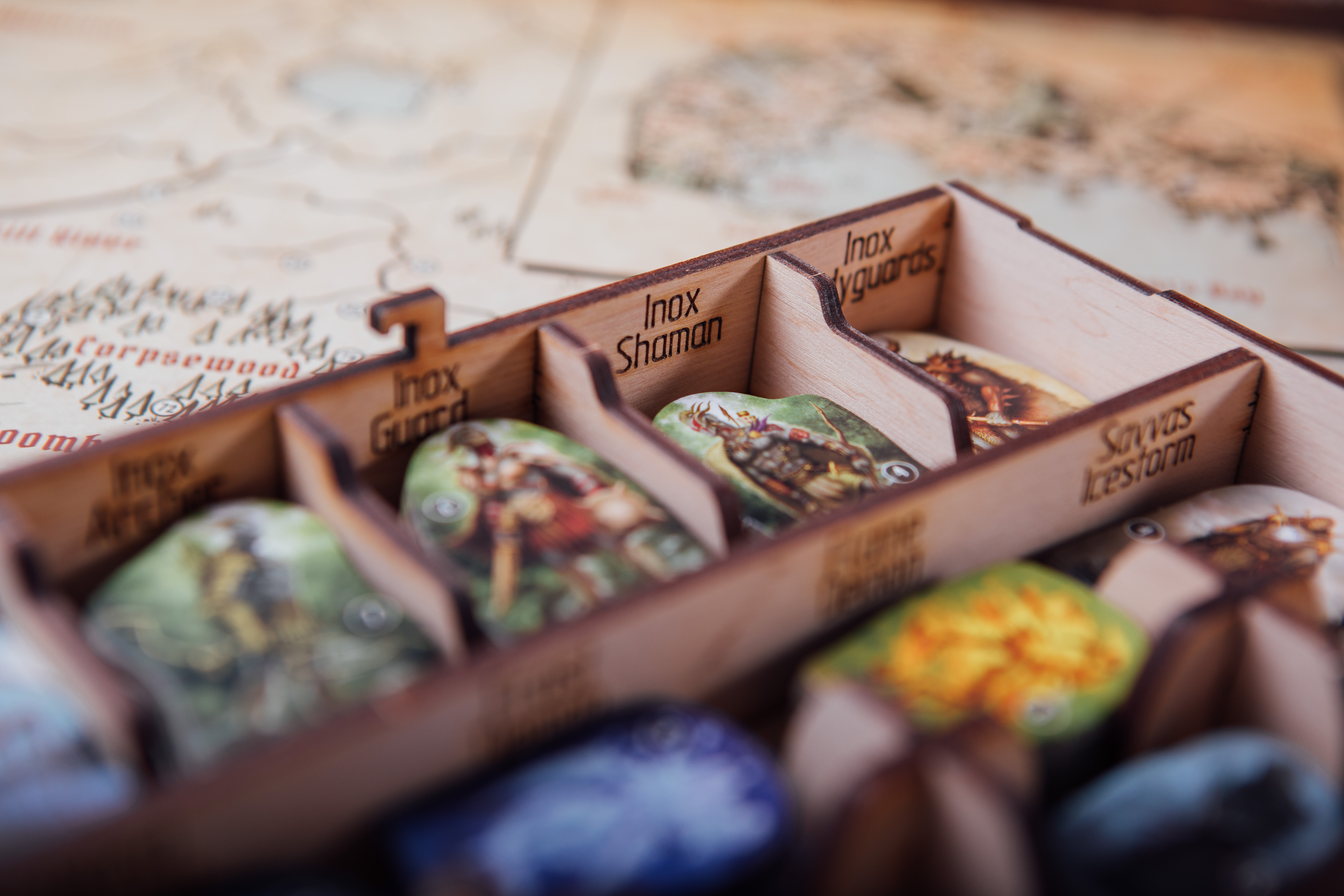 Gloomhaven review Tower Rex game insert
